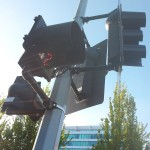 Traffic signal in Vancouver