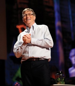 """Bill Gates: """"If you gave me only one wish for the next 50 years, it'd be to invent the thing that halves the cost energy with no CO2. This is the one with the greatest impact."""" Speakers like Gates will be televised on the jumbotrons at BC Place from March 17 to 21, 2014. / Photo via Wikipedia."""